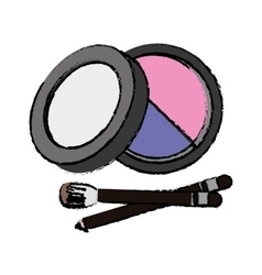 makeup icon image vector image