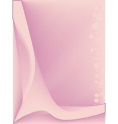 Pink Backdrop vector image vector image