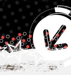 Abstract grunge artwork vector