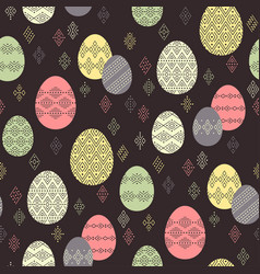 easter ethnic pattern vector image