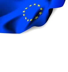 Flag euro vector