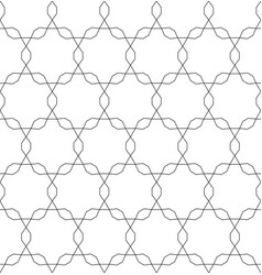 monochrome seamless pattern repeating mesh vector image