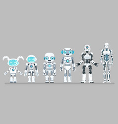 Robot android innovation technology science vector