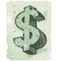 Sign of dollar vector