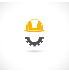 Engineer concept icon vector image