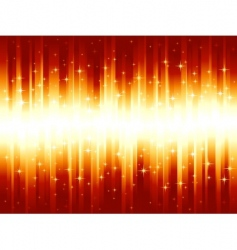 vibrant red golden festive stripes vector image vector image