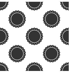quality emblem icon seamless pattern vector image vector image