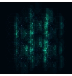 Abstract Futuristic Hexagonal Background vector image