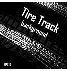 Black background with car track vector