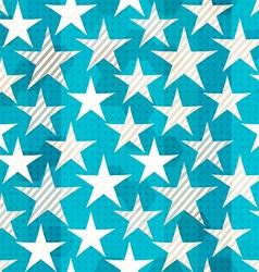 blue star seamless vector image
