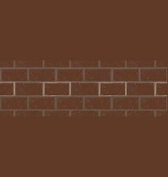 Brick seamless wall vector