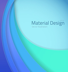 Bright colorful material design abstract lines vector