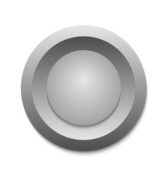 circle button template for your design vector image