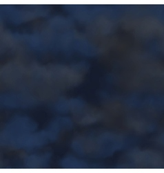 cloudy night vector image