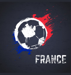 france football background vector image