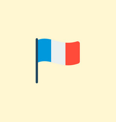 france icon flat element of vector image
