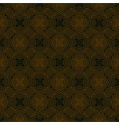 vintage pattern in organic colors vector image