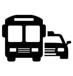 social transport symbol vector image