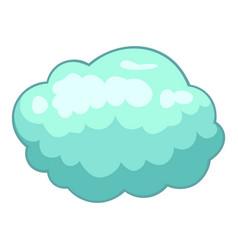 storm cloud icon cartoon style vector image vector image