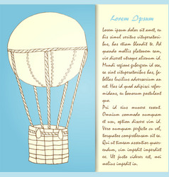 air ballon hd vector image