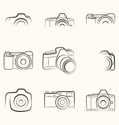 Camera Outline vector image