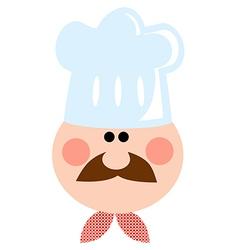 Cartoon Chef Man vector image