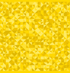 Golden triangle pattern background - polygonal vector