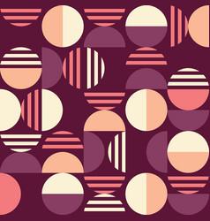 mid-century modern seamless pattern vector image