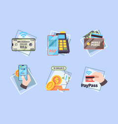 mobile payments business concept pictures online vector image