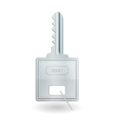 padlock key icon vector image