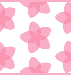 Pattern sakura flower vector
