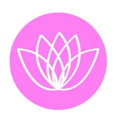 spa logo icon vector image