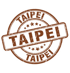 Taipei stamp vector