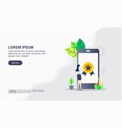 Website development concept vector