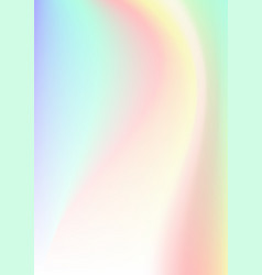 vertical abstract background with holographic vector image vector image