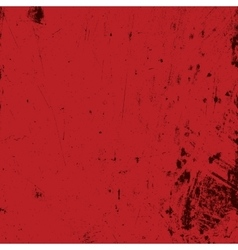 Red Bloody Distress vector image