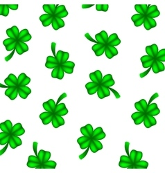 Background of green clover vector