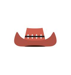 Crocodile hunter hat australia icon on white vector