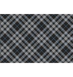 Platinum kilt tartan diagonal seamless pattern vector