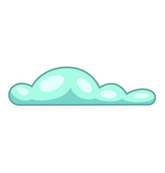 Tropical cloud icon cartoon style vector