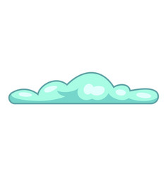 atmosphere cloud icon cartoon style vector image