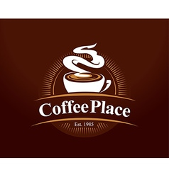 Coffee Place Logo vector image vector image