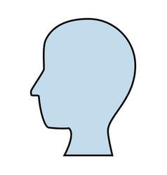 head icon image vector image vector image