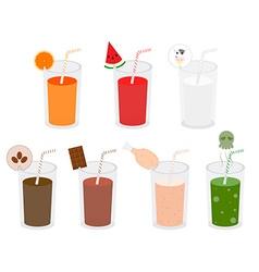 Beverage variety vector