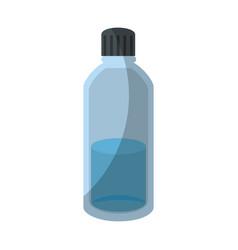 bottle with liquid vector image