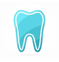 Dentist logo Tooth icon vector