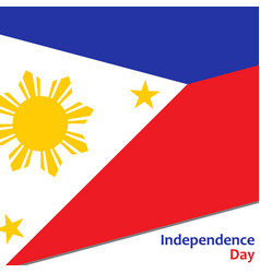 Philippines independence day vector