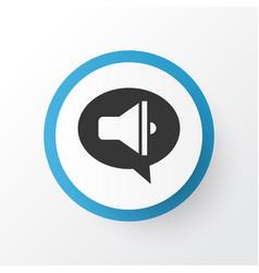 promote icon symbol premium quality isolated vector image