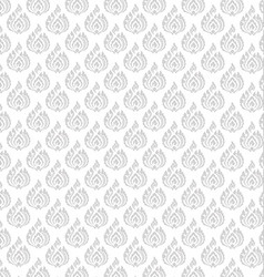 Thai pattern floral 01 vector