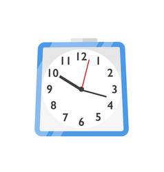 wall clock watches flat vector image